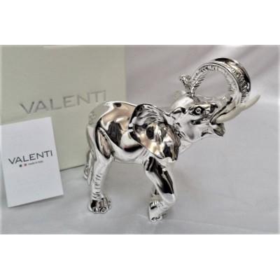 Figurka srebrny słoń...