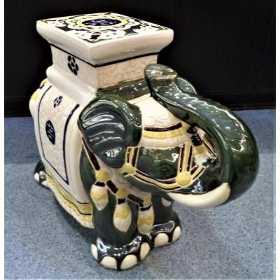 Duży słoń porcelanowy UB-63