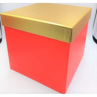 Pudełko kartonowe czerwono...
