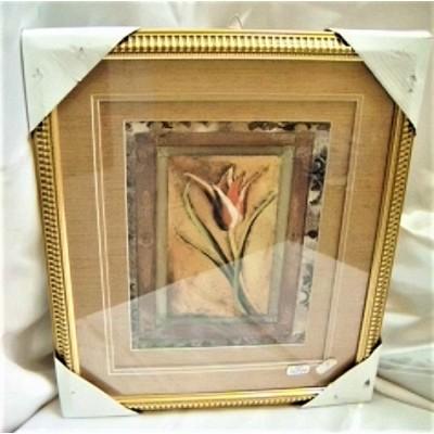 Obraz 3D w złoconej ramie -...