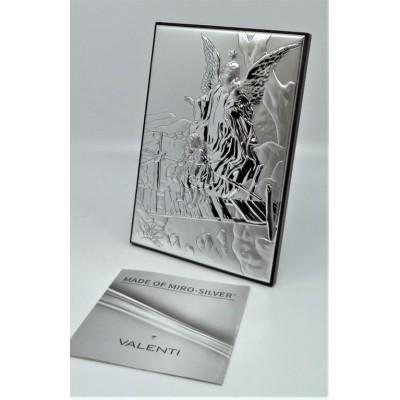 Srebrny obrazek włoskiej -...