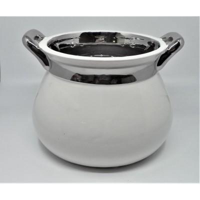 Porcelanowa osłonka-wazon...